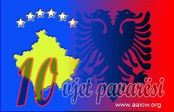 GËZUAR 10 VJETORIN E PAVARËSISË SË KOSOVËS!